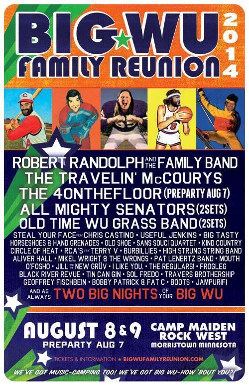 Big Wu Family Reunion 2014 Camp Maidenrock